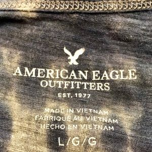 American Eagle Outfitters Tops - American Eagle Outfitters tie dye racerback tank